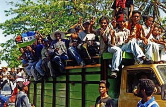 History of East Timor - East Timorese independence referendum, 1999