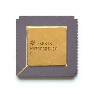 NS320xx - NS32032 microprocessor