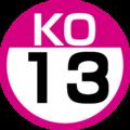 KO-13 station number.png
