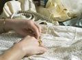 KOF, bilder till folder, konservering av textil - Livrustkammaren - 67301.tif