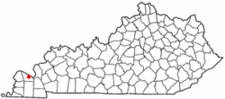 Location of Hendron, Kentucky
