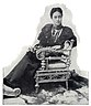 Kaiulani in Boston, 1893, seated, photograph by Elmer Chickering, published in Our Islands and Their People, 1899.jpg