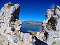 Kalaja ne breg te Qytetit Antik te Butrintit.JPG