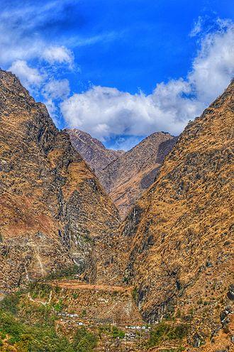 Kali Gandaki Gorge - The gorge