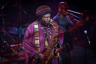 Kamasi Washington American saxophonist