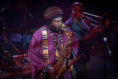 Picture of a band or musician: Kamasi Washington
