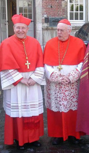 St. Gallen Group - Cardinals Walter Kasper and Godfried Danneels, two prominent members of the Club of St. Gallen.