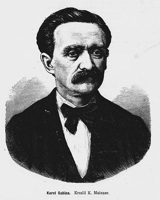 Karel Sabina 1871 Maixner