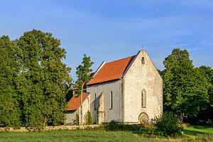 Leisi Parish - Image: Karja kirik Leisi vallas Saaremaal