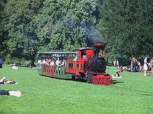 Schlossgarten Karlsruhe Bahn