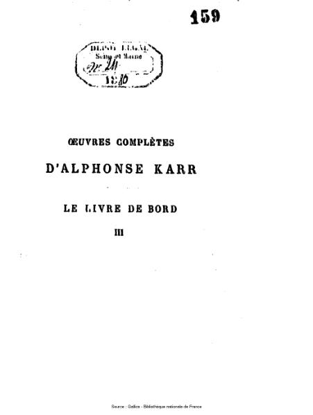 File:Karr - Le livre de bord, série 3.djvu