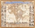 Karta över Afrika från 1688, kopparbestick på papper, klistrat på duk - Skoklosters slott - 93668.tif