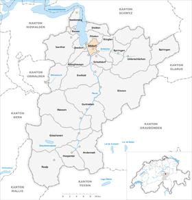 Karte Gemeinde Altdorf 2007