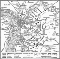 Karte Voelkerschlacht bei Leipzig 18 Oktober 1813.png