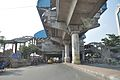 Karunamoyee Metro Station Under Construction - 3rd Avenue - Salt Lake City - Kolkata 2017-04-29 1702.JPG