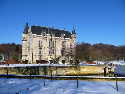 How to get to Kasteel Schaloen with public transit - About the place