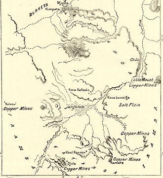 Copper in Africa - Katanga mining area, 1890s
