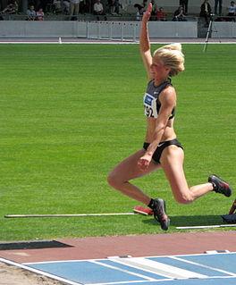 Katja Demut German triple jumper