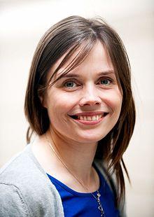 Katrin Jakobsdottir, undervisnings- forsknings- og kulturminister i Island, samt samarbejdsminister i Nordisk Ministerrad.jpg