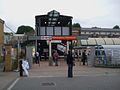 Kensington Olympia stn west entrance.JPG