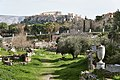 Kerameikos Cemetery and the Acropolis on March 7, 2020.jpg