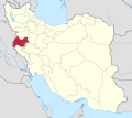 Kermanshah in Iran.svg