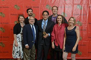 Public Radio Exchange - Image: Kerri Hoffman Ben Adair John Barth Aaron Glantz Susanne Reber Jake Shapiro Amy Pyle (14266353509)