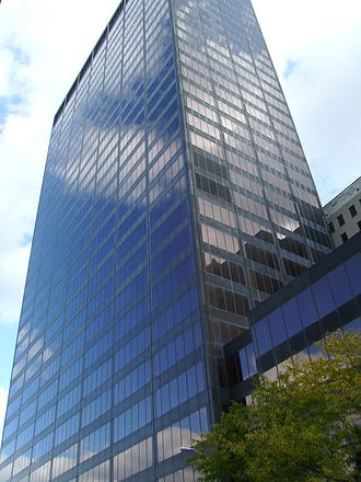 Dayton, Ohio - Kettering Tower, Downtown Dayton's tallest high-rise.