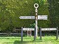 Keyston signpost - geograph.org.uk - 1285647.jpg