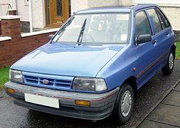 pre-facelift kia pride 5-door (uk)