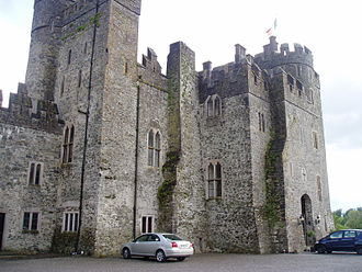 Hugh de Lacy, Lord of Meath - Kilkea Castle (Front)