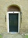 kimswerd - noordelijke ingang sint-laurentiuskerk