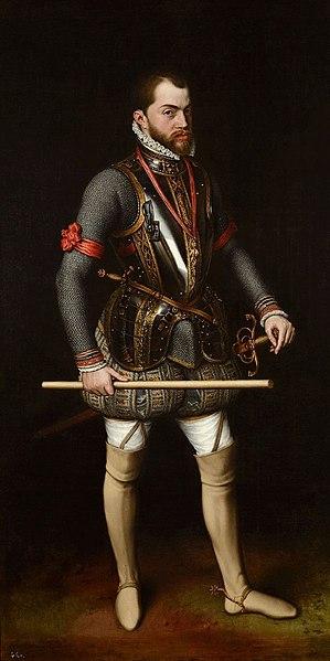 File:King PhilipII of Spain.jpg