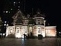 Kitakyushu City Dalian Friendship Memorial Hall at night.jpg