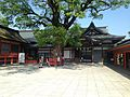 Kitoden Hall of Upper Shrine of Usa Shrine.jpg
