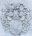 Klagenfurt Pfarrkirche St Georgen Epitaph Wappenrelief von Edlmann 28052016 2136.jpg