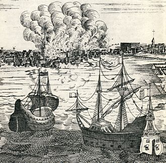 Historical fires of Stockholm - Fire of Clara in 1751