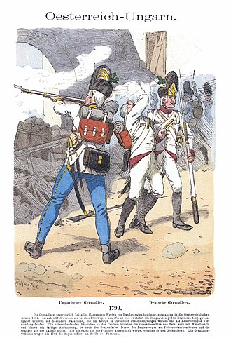First Battle of Marengo (1799) - Image: Knötel III, 37