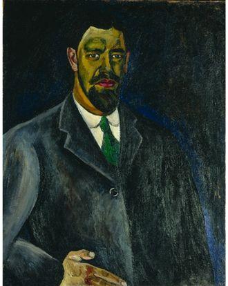 Pyotr Konchalovsky - Self portrait, 1910