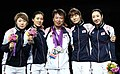 Korea London WomenTeam Fencing 21 (7730591270).jpg