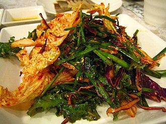Allium tuberosum - garlic chives kimchi