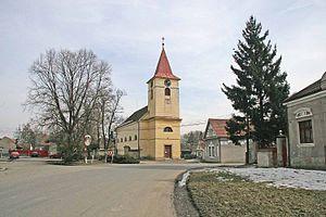Libice nad Cidlinou - Image: Kostel Svatého Vojtěcha v Libici