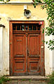 Kostomlaty nad Labem, old presbytary, door.jpg