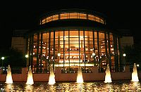 The exterior of the Raymond F. Kravis Center for the Performing Arts (Photo by: John Panicci).