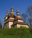 Krempna, cerkiew, widok od strony wschodniej.jpg