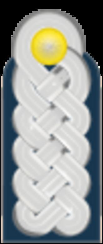 Korvettenkapitän - shoulder strap