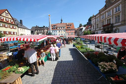 Kulmbach Wochenmarkt