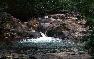 Kunashir Island - Sulfuric River, Kunashir Island