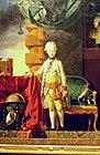 Kunsthistorisches Museum Wien, Zoffani, Kaiser Franz I. im Alter von sieben Jahren.JPG