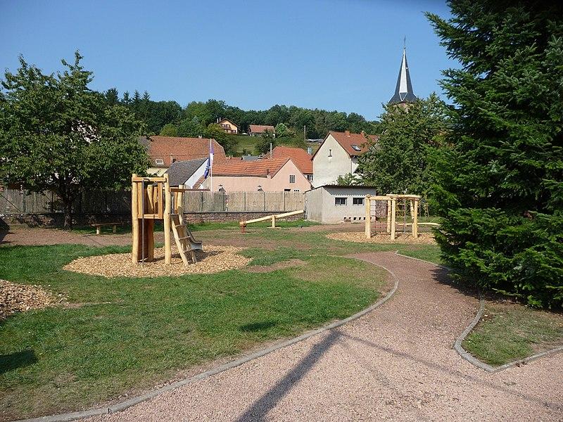 L'aire de jeu de Walschbronn